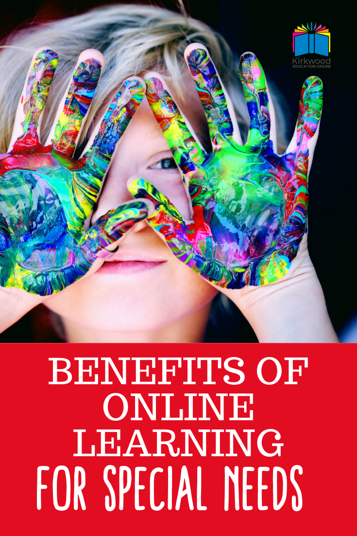 Benefits of online learning for special needs