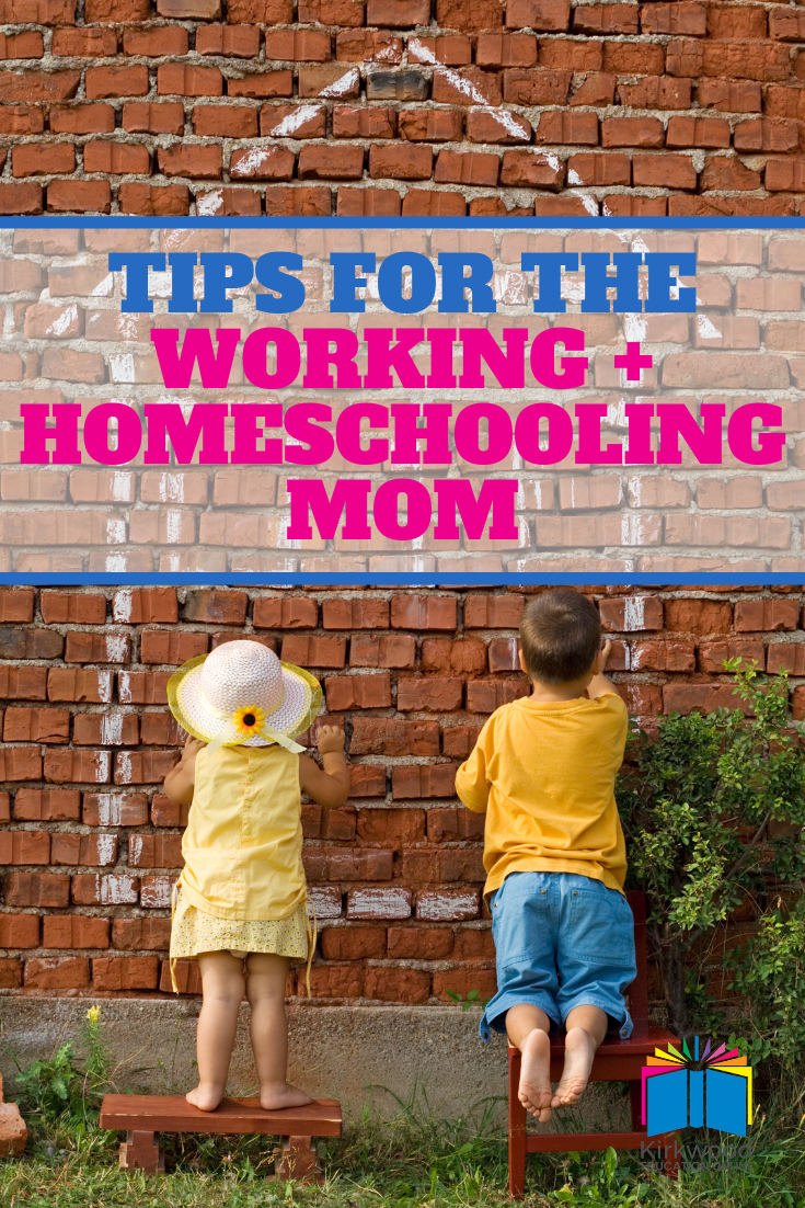 Tips for balancing homeschooling and working