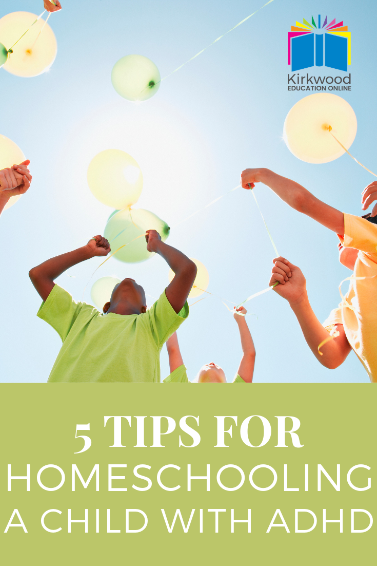 Tips for homeschooling a child with ADD or ADHD