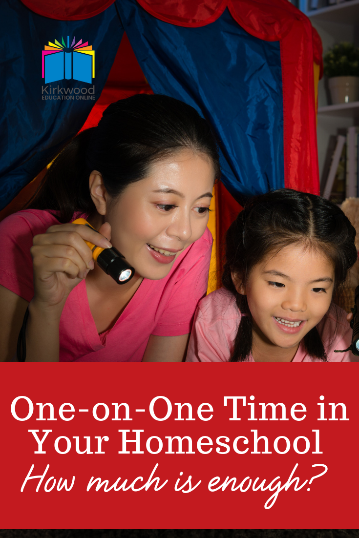 One-on-One Time in Your Homeschool (How Much is Enough?)